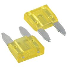 New 20A MINI blade fuses, 20 AMP blade fuses, for car motorbike van, pack of 11