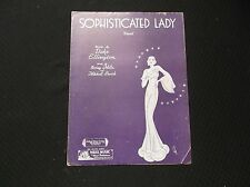 Sophisticated Lady (1933) Duke Ellington, Irving Mills & Mitchell Parish #5088