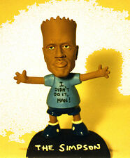 O J Simpson + Bart Simpson = The Simpson! resin + Judge Ito bobbin' head RARE!