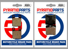 Montesa 311 Cota Trial 1992 Front & Rear Brake Pads Full Set (2 Pairs)
