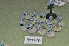 15mm sci-fi mercenaries infantry 15 figures (9054) metal painted