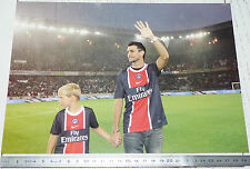 PHOTO 29.5 X 21 PARIS SAINT-GERMAIN PSG JAVIER PASTORE FOOTBALL 2011-2012