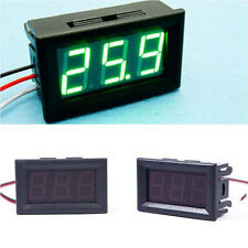HOT Mini DC 2.5-30V LED Panel 3-Digital Display Two Wires Voltage Voltmeter