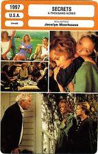 Fiche Cinéma. Movie Card. Secrets / A thousand acres (USA) 1997