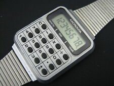 VINTAGE MICRONTA LCD CALCULATOR WATCH - TANDY RADIO SHACK - China