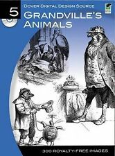 Grandville's Animals (Dover Electronic Clip Art), , Good, Paperback