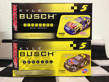 Action 1/24 Kyle Busch 2006 #5 Kelloggs and Carquest 2 car set FREE Shipping