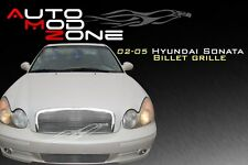 02-05 Sonata Billet Grille Grill Insert 2pc Combo for Hyundai