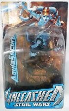 Star Wars Unleashed Aayla Secura Plastic Statue Action Figure MOC Hasbro