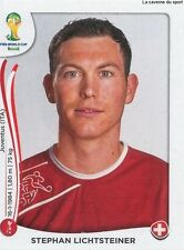 N°339 STEPHAN LICHTSTEINER # SWITZERLAND STICKER PANINI WORLD CUP BRAZIL 2014