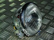"""Scheinwerfer Head Light 4 1/2"""" Sport Licht 12V Tüv für Harley Davidson"""