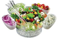 Frigidaire CHILLED Serving Bowl Set FGD51115 Instant Outdoor Salad Buffet BBQ