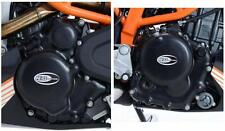 R&G ENGINE CASE COVER KIT (2 Covers) for KTM RC390, 2014 to 2016