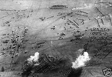 Air Raid on South African Military Camp World War 1, 6x4 Inch Reprint Photo 1