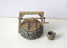 Minishire Scenery- 28-32mm Water Well. Wargames & RPGs. Resin