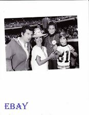 Annette Funicello w/family candid VINTAGE Photo