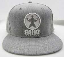 Workout Gym Hat GAINZ ALL DAY SnapBack, Hat, Gym Gear, Gym Hat, Snapback