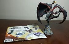 McFarlane's Dragons Lost King Sorcerers Dragon Clan 2 with paper insert! Used