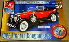 AMT ERTL 1928 Lincoln Gangbusters, 1/25 Scale, Buyer's Choice, Sealed Kit