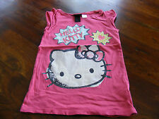 ***pinkes  Hello Kitty Shirt von H&M  in Gr. 110 /116   ***