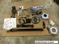 87-93 Ford Mustang T5 Trans Swap AOD To T5 Transmission 5 Speed Conversion Kit