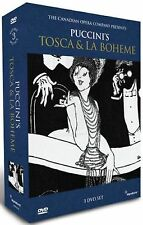 PUCCINI'S TOSCA & LA BOHEME - 3 DVD SET - FREE POST IN UK