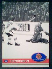 PAUL HENDERSON '72 TEAM CANADA 20th ANNIVERSARY OF THE SUMMIT SERIES FRENCH CARD