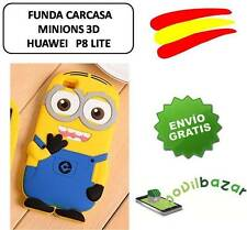 COQUE HOUSSE HUAWEI P8 LITE MINION MINIONS SILICONE 3D ESPAGNE MAGASIN