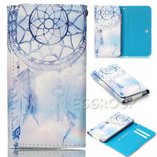 Lovely Pattern PU Leather Wallet Pouch Bag Case Cover For Vodafone Smart Phone