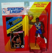 1992 REGGIE MILLER Indiana Pacers #31 HOF - low s/h - Starting Lineup Kenner NM+