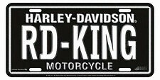 Harley-Davidson RD-KING Road King License Plate - 1895
