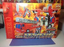 Transformers Super Fire Convoy Takara Japan Car Robots C-001 100%complete In Box