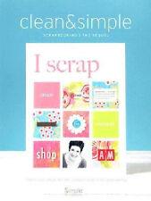 CLEAN & SIMPLE SCRAPBOOKING - The Digital Kit - I SCRAP