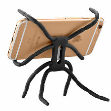 1*black Spider Car Table Mount Holder Stand For Cell Phone Bike Bracket