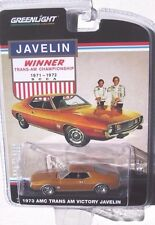 GREENLIGHT HOBBY EXCLUSIVE 1973 AMC JAVELIN with TRANS-AM VICTORY PACKAGE