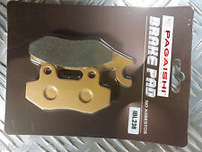 SEMI METAL REAR BRAKE PADS FOR PEUGEOT Satelis 500 RS (Nissin Calipers) 08-12 R