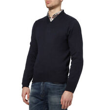 "NWT Authentic ACNE STUDIOS ""DOWEN"" Navy Knitted Cotton Sweater XS"