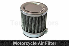 1 x Moto Motocycle Hachoir Filtre Admission Air Performance Chrome A1 60mm