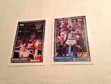 1992-93 Topps Basketball Complete Set-396 Cards/1&2-Shaquille O'Neal RC