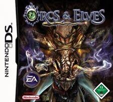 NINTENDO DS 3DS ORCS AND ELVES * Vom Doom Schöpfer **** Neuwertig