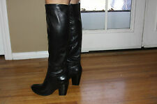 Steve Madden Reversee Tall Leather Boots Sz 9.5