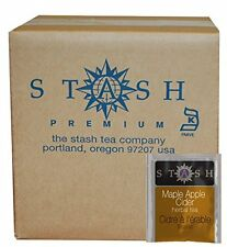 Stash Tea Teabags, Maple Apple Cider, 100 Count, New, Free Shipping