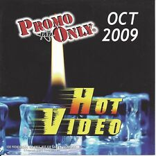 PROMO ONLY- New, DVD HOT VIDEO OCT.-2009,Madonna,Backstreet Boys,Pearl Jam
