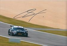 Bruno SPENGLER SIGNED 12x8 Photo BMW DTM Champion Motorsport AFTAL Autograph COA