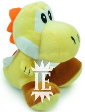SUPER MARIO BROS. YOSHI GIALLO PELUCHE 17 CM PUPAZZO plush doll new yellow Jaune