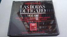 """CD """"MOZART LAS BODAS DE FIGARO"""" 2CD CARLO GIULINI GIUSEPPE TADDEI ANNA MOFFO"""