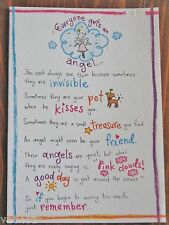 "Blue Mountain Arts Greeting Card ""Everyone Gets An Angel Looking Out for You"""