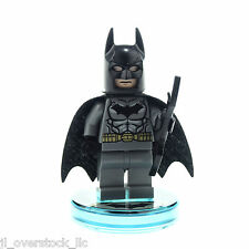 LEGO Dimensions BATMAN Minifigure w/ Batarang & Disc Base - NEW LOOSE