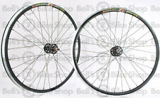Weinmann DP18 Machined Track Bicycle Wheels BLACK Deep V Fixed