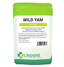 Mexican Wild Yam 500mg Tablets  Diosgenin (100 pack)  [Lindens 2278]